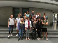 Abschlussklasse der Mittelschule Türkenfeld in Berlin